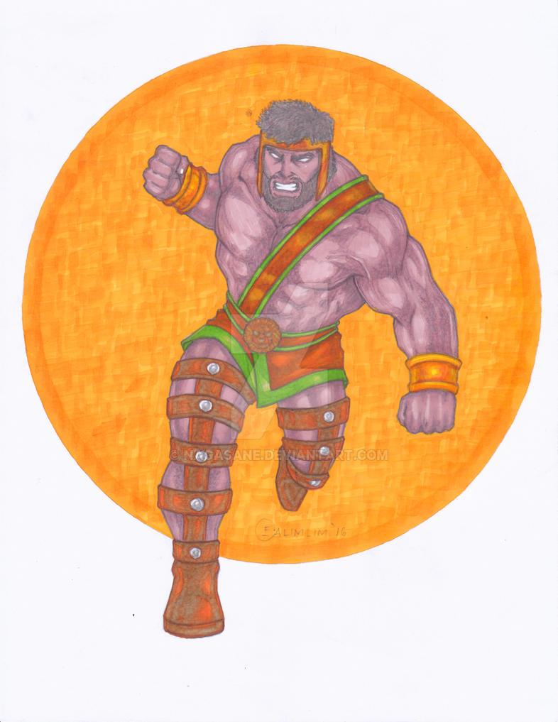 Hercules - Marvel by NaGaSaNe