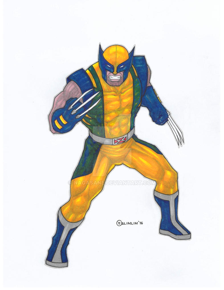 Wolverine - Marvel by NaGaSaNe