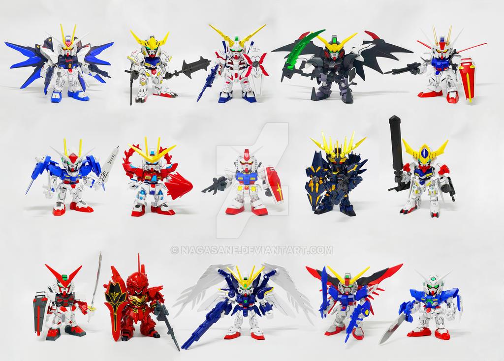 Gundam EX Standard by NaGaSaNe