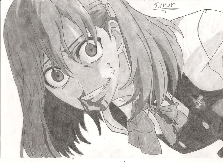 Another anime ogura yumi psycho by enragedpencil