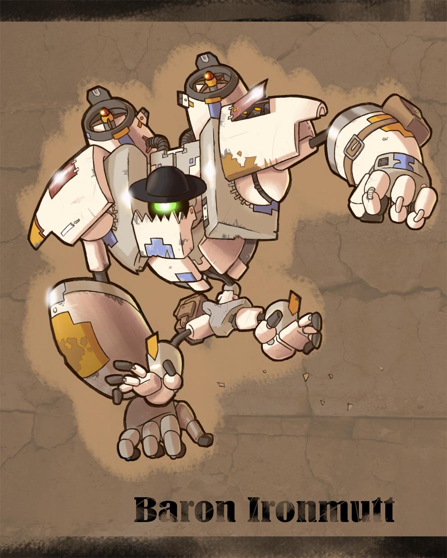 Flight of the Mighty Ironbolt - Web Comic under Development Ironbolt___baron_ironmutt_full_body_by_dlsgorm-d4rcxxe