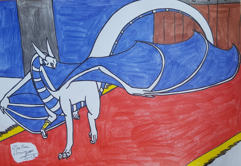 Rathros de retour a Vrandmorg by dragoonbeyblade