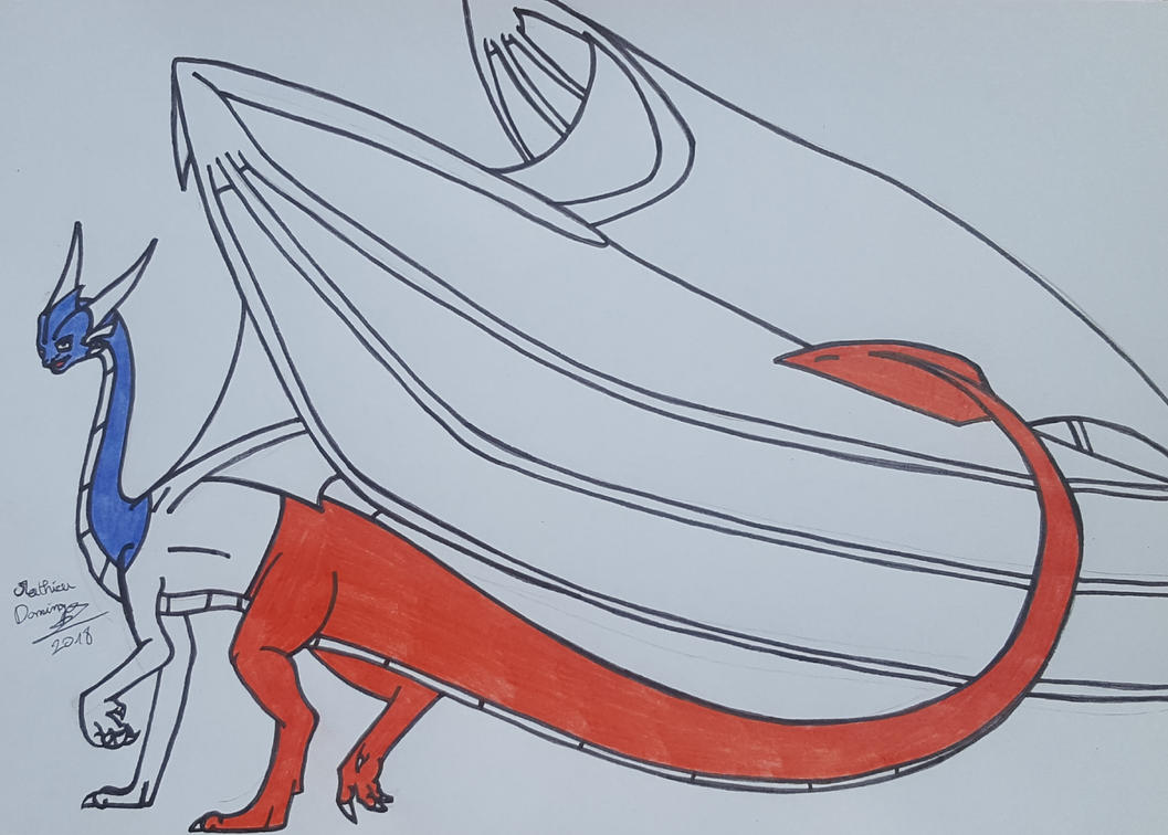 Asthic le dragon by dragoonbeyblade