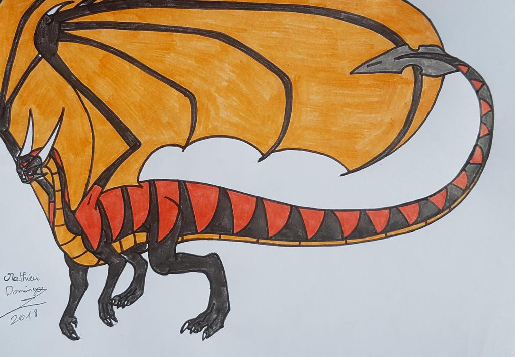 Apophis le dragon by dragoonbeyblade