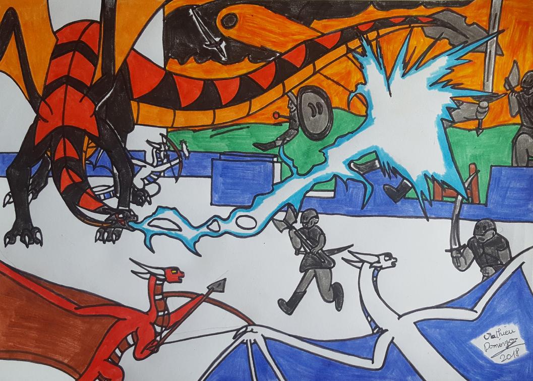 La bataille de Vrandmorg 2 by dragoonbeyblade