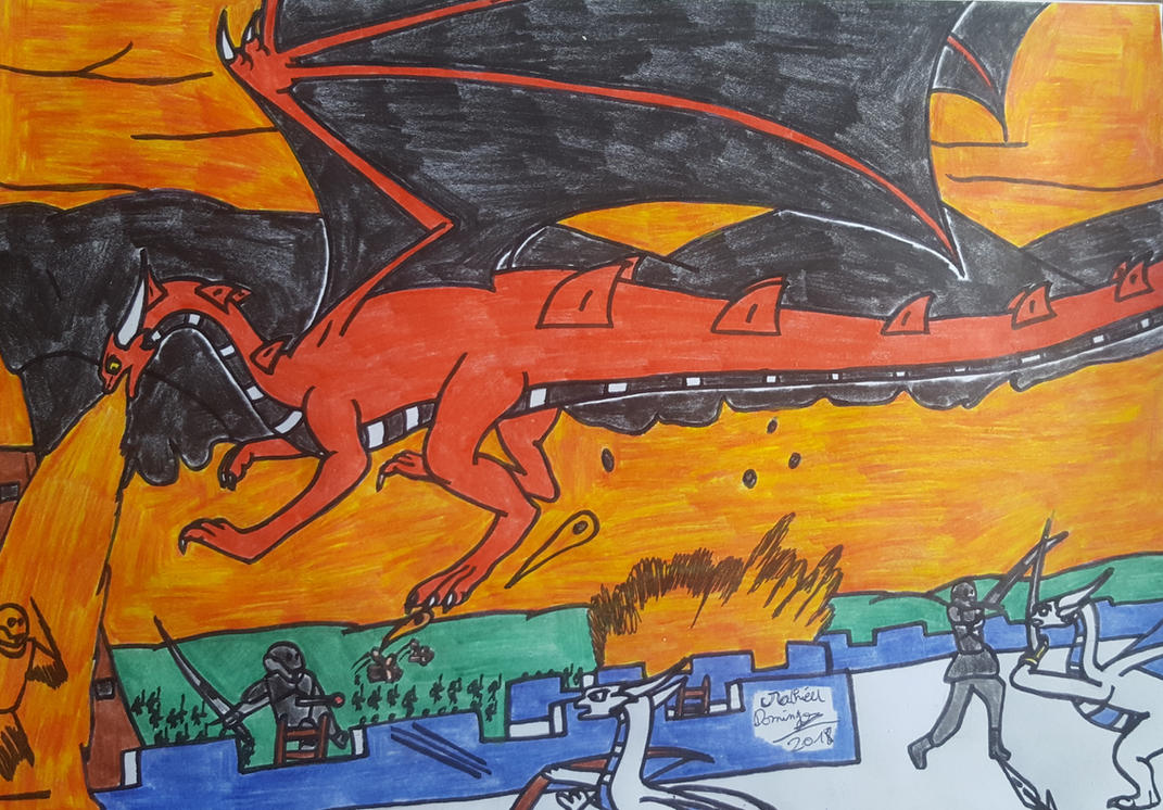 La bataille de Vrandmorg 3 by dragoonbeyblade