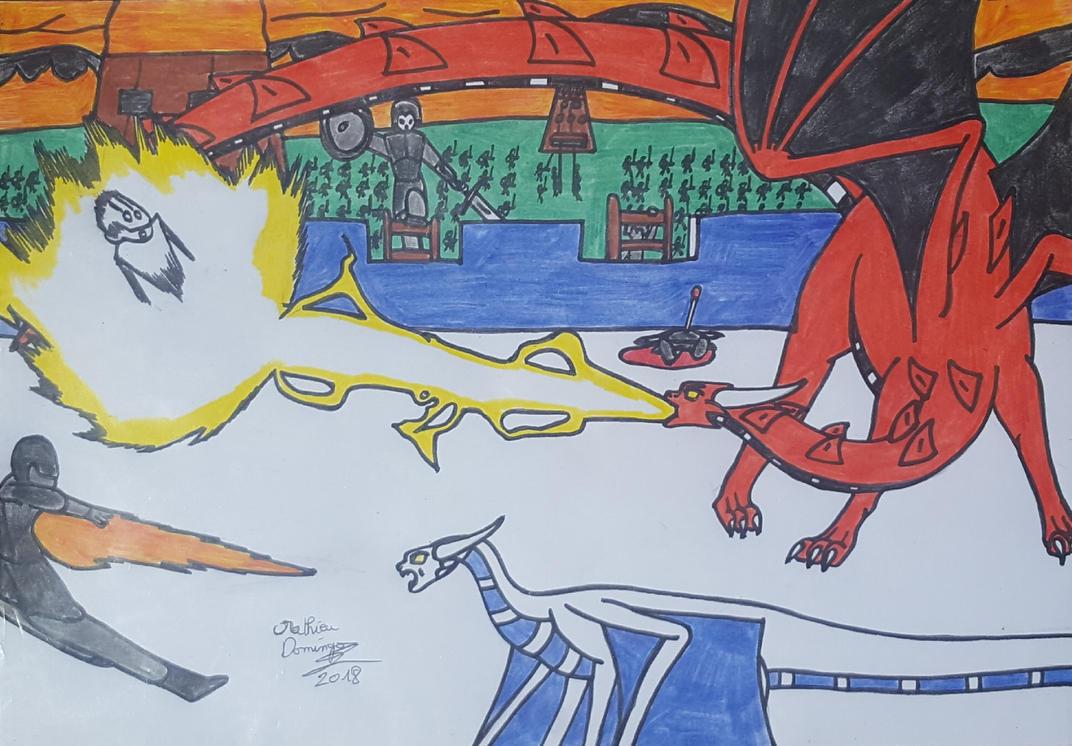 La bataille de Vrandmorg 4 by dragoonbeyblade
