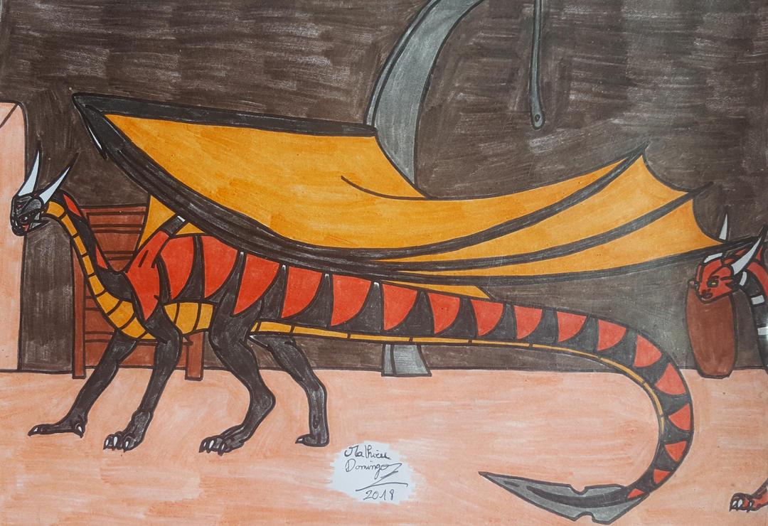 Apophis et Xygaar  la tertre d'Apolliallius by dragoonbeyblade