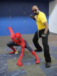Spidey and Luke Cage