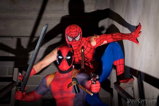 Spidey n Deadpool Duo