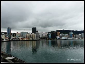 Wellington Harbour 1 by Mogrianne