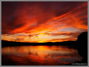 Burning Waters Reflect - resub