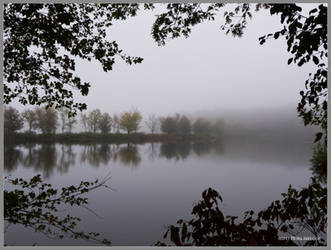 Misty Waterway by Mogrianne