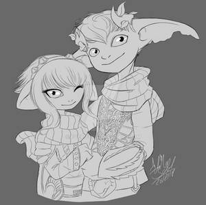 B/W-Commission - Hand in Hand