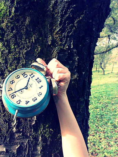 Blue Clock.