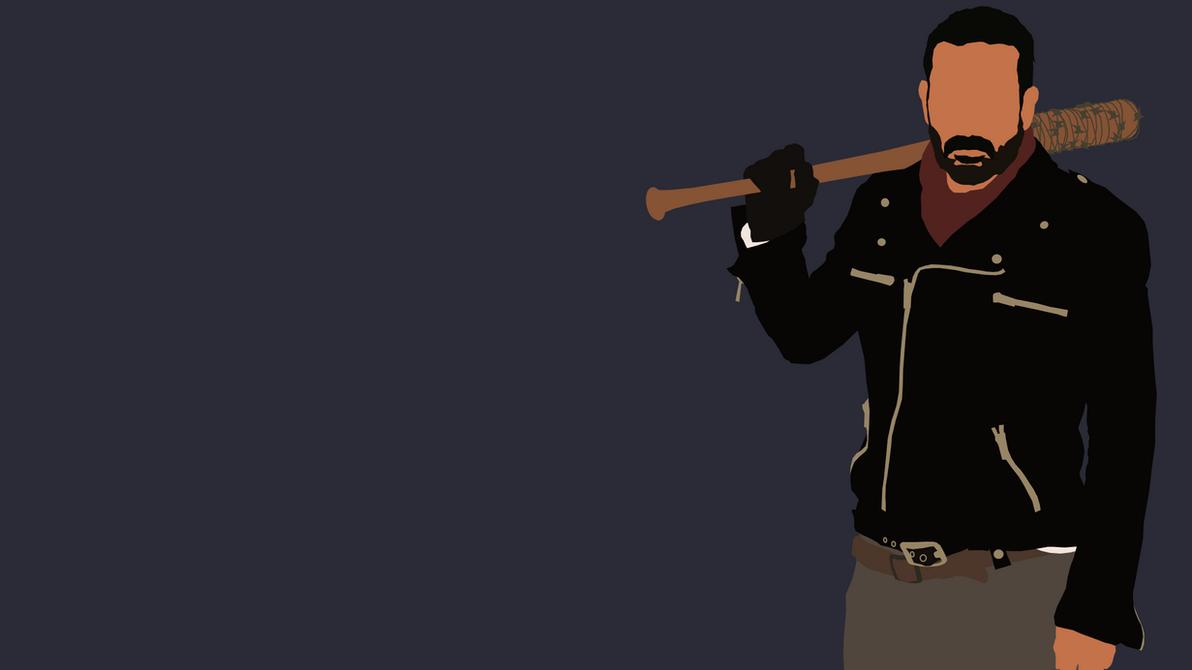 The Walking Dead Negan Wallpaper: Negan From The Walking Dead By Reverendtundra On DeviantArt