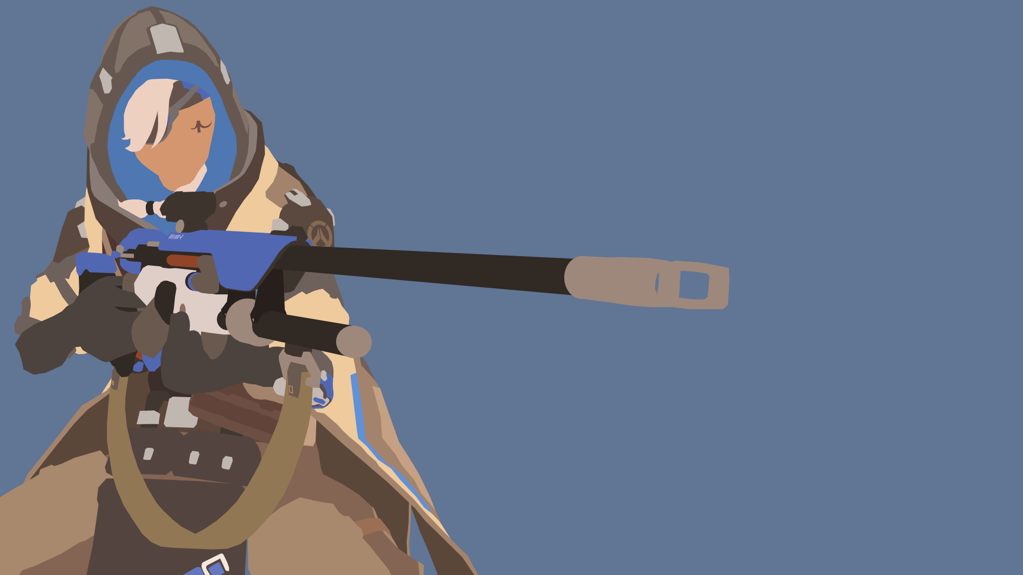 Ana from overwatch by reverendtundra on deviantart - Ana wallpaper ...