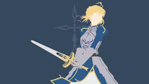 Saber (Artoria Pendragon) from Fate