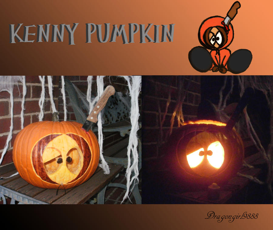Kenny Pumpkin by Dragongirl9888