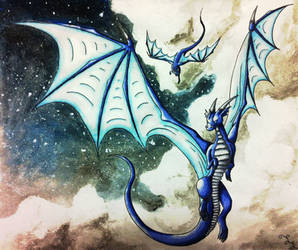 Night Flight by Dragongirl9888