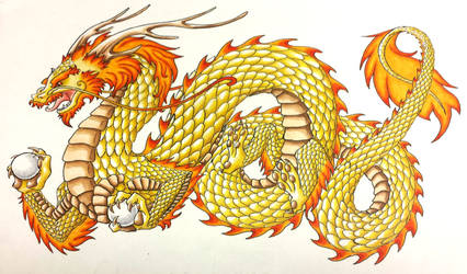 Chinese Dragon by Dragongirl9888