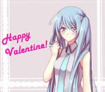 Happy Valentine by Reina-tan