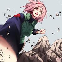 cherry blossom impact by Reina-tan