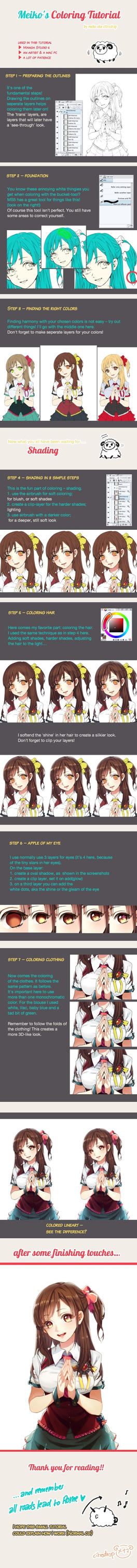 Coloration Tutorial by Reina-tan