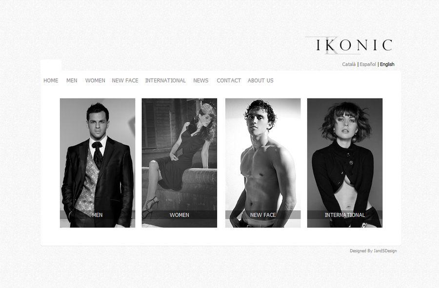 Web Interface IkoniModels