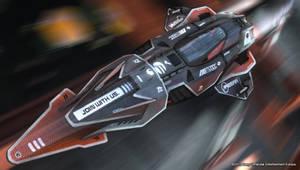 Wipeout 2048 Ships: Feisar Prototype