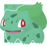 Bulbasaur #001 by BadlyDrawnPokemon