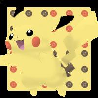 Pikachu #025 by BadlyDrawnPokemon