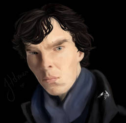 Sherlock being holmes by Dueswals
