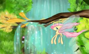 Breezy fluttershy by Dueswals