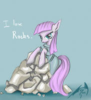 I love rocks. by Dueswals