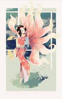 yokai Geisha by Dueswals