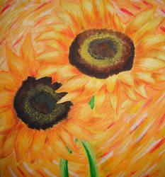 Finished Sunflowers