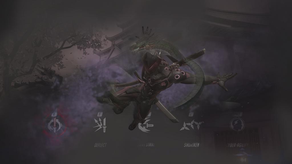 Genji Wallpaper Overwatch By SmammyBoi On DeviantArt