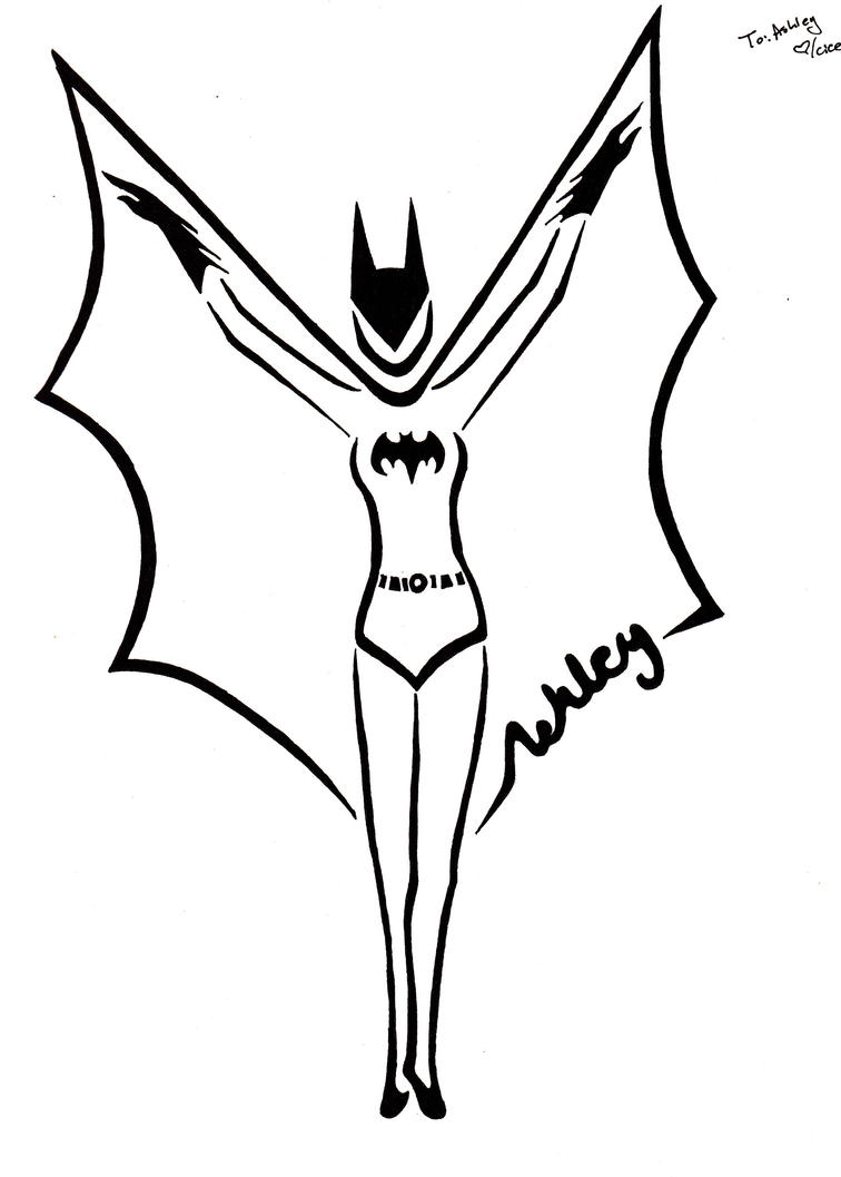 Batwoman Tribal Tatt By Zanture Angel On DeviantArt