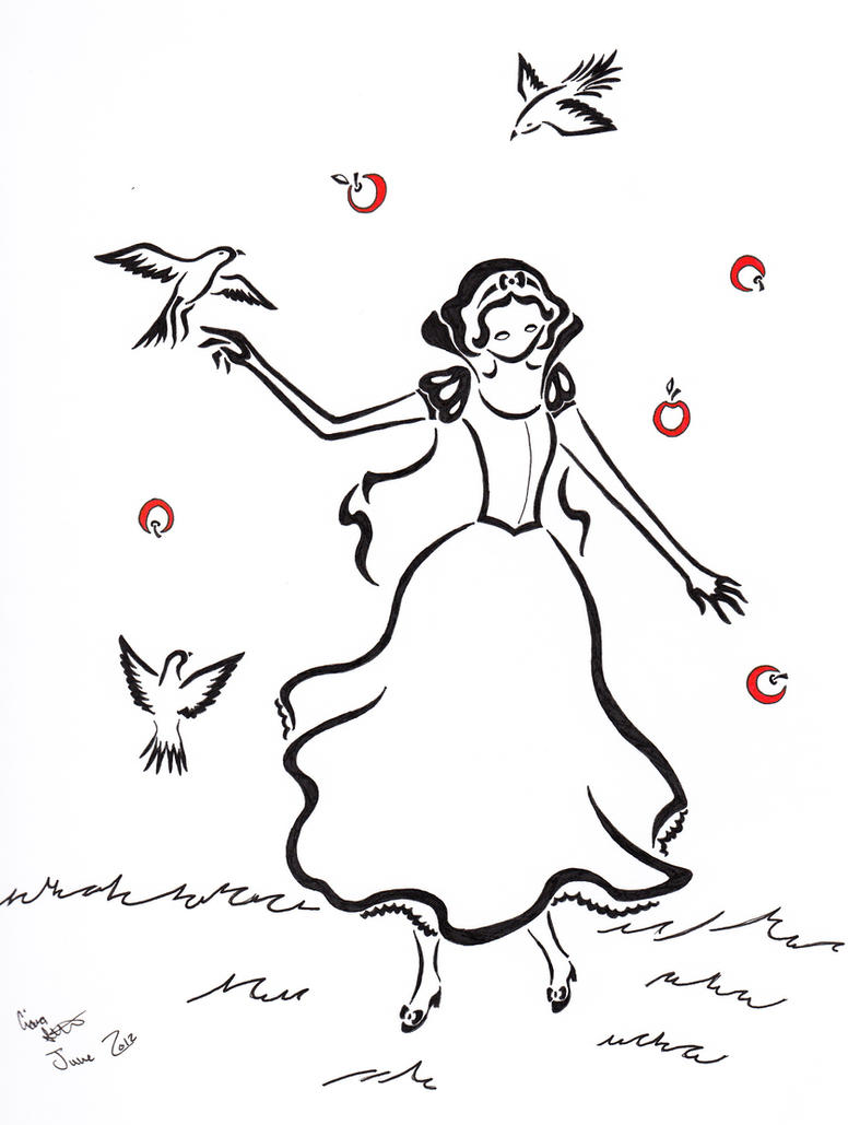 Snow White by Zanture-Angel