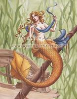 July Mermaid by Wenchworks