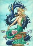 Mermaid and Dragon