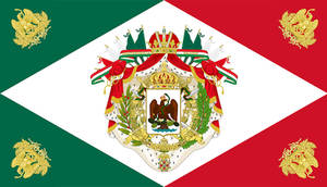 Flag of the Mexican Empire