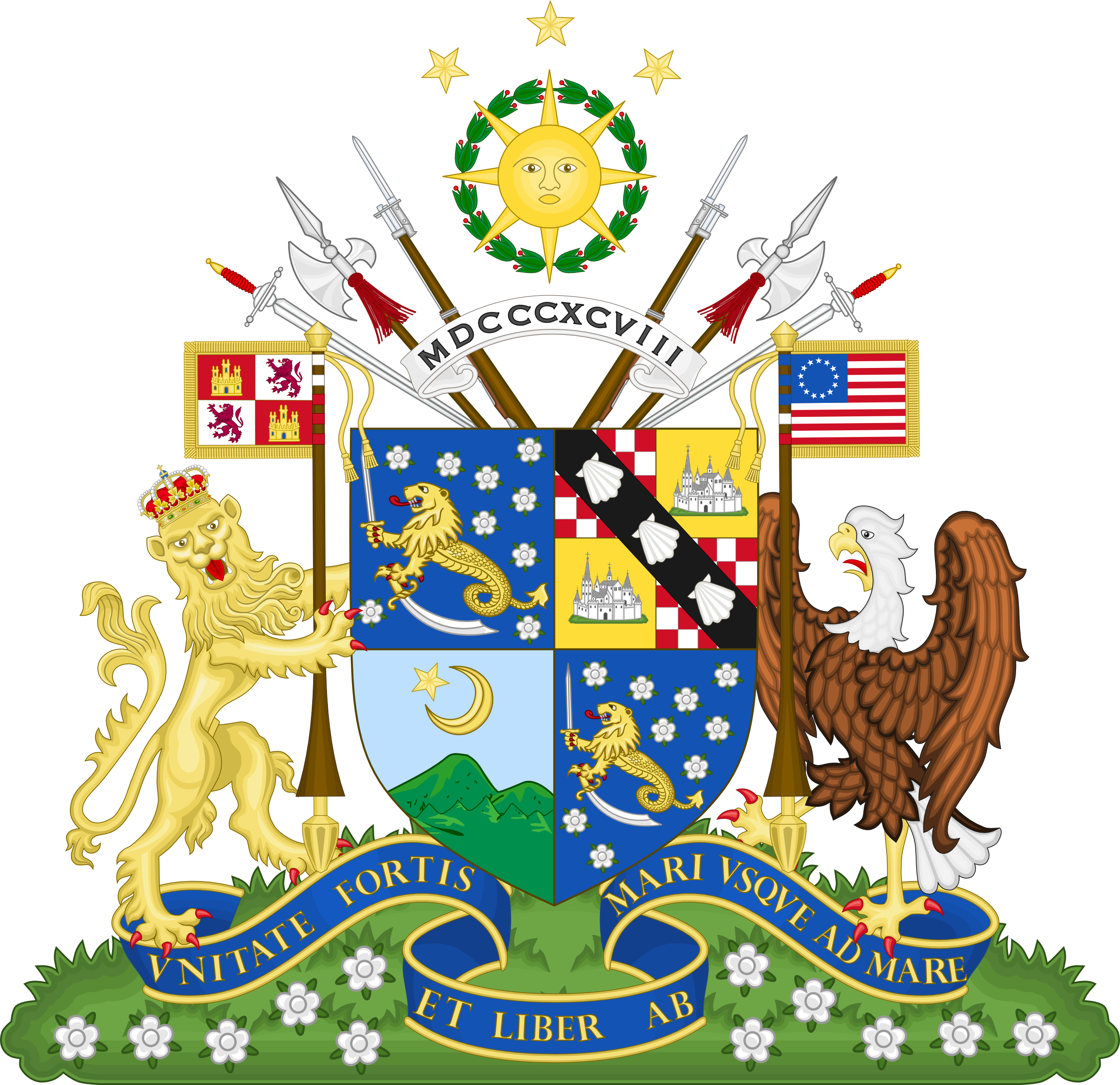 Alternate Coat of Arms of the Philippines by IEPH on DeviantArt
