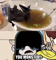 [TLH/Meme/Shitpost] Lucy gasps at Bat Soup