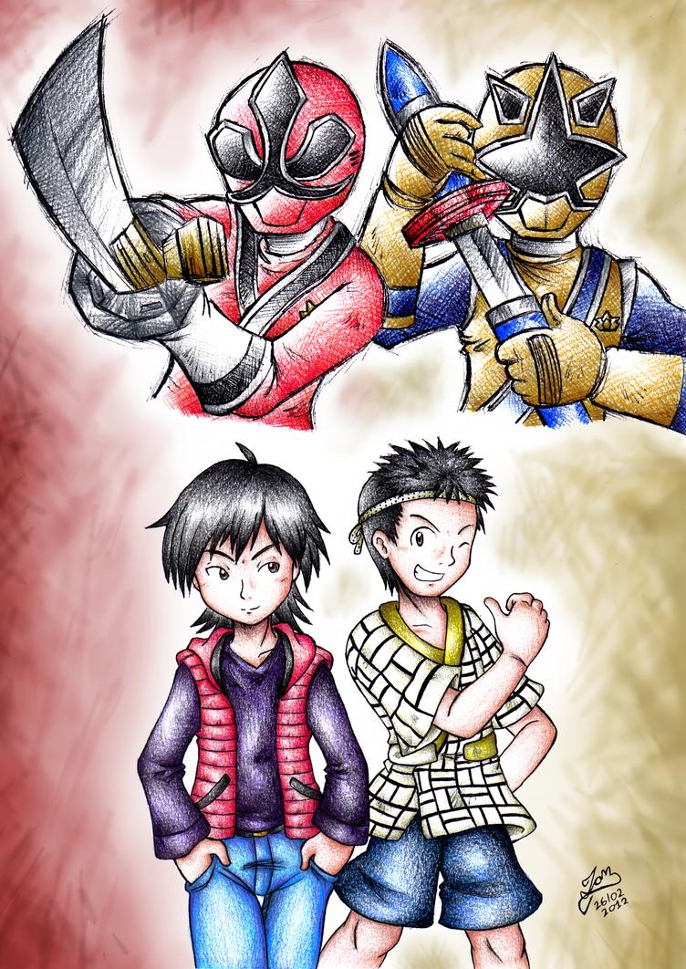 Shinken Red and Gold by IanDimas on DeviantArt