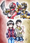 Shinken Red and Gold