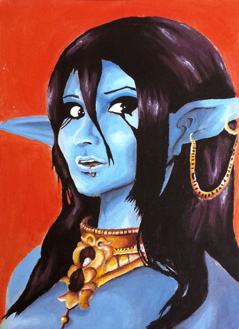 Paimon Painting by Ian-the-Hedgehog
