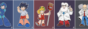 Daily Rockman - Rockman 1 Characters