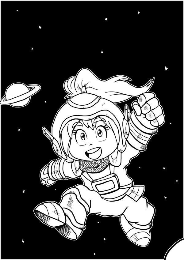 Medieval Spacegirl Cover by IanDimas